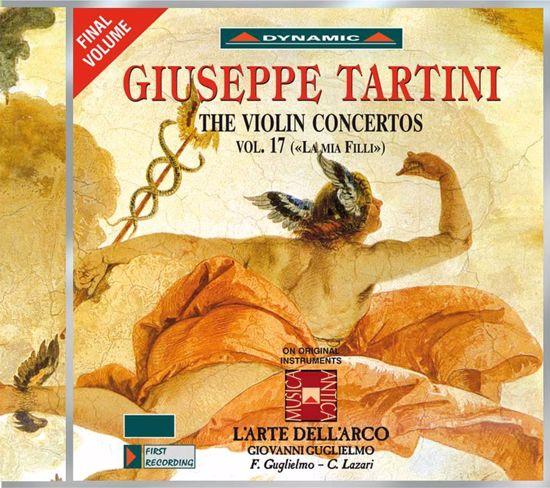 TARTINI:THE VIOLIN CONCERTOS VOL.17  2CD