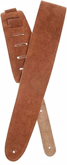 PAS ZA KITARO PLANET WAVES Suede Guitar Strap, Honey