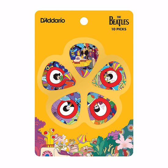 DRSALICE PLANET WAVES Beatles YELLOW SUBMARINE 50TH 0,50 mm 10 Pack