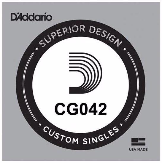 Struna D'Addario za E-Kitaro CG042 brušene