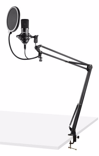 VONYX CMS300B Studio Microphone Set USB Black
