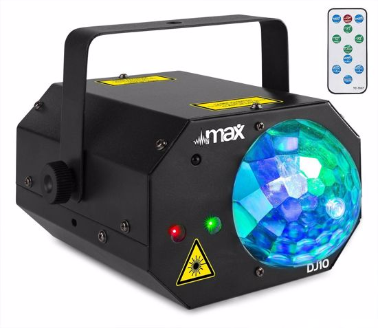 VONYX DJ10 Jelly Moon with Red/Green Laser
