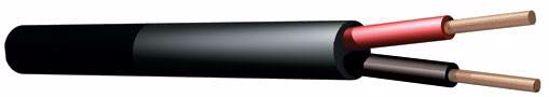 Pd CONNEX KABEL RX12 Speaker cable Round 2x 1.5 black