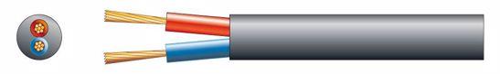 Pd CONNEX KABEL RX14 Speaker cable Round 2x 2.5 Black