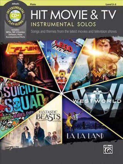 HIT MOVIE & TV INSTRUMENTAL SOLOS PLAY ALONG FLUTE+CD