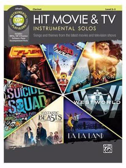 HIT MOVIE & TV INSTRUMENTAL SOLOS CLARINET PLAY ALONG +CD