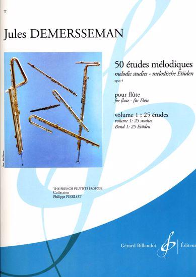 DEMERSSEMAN:50 ETUDES MELODIQUES  OP.4 vol.1