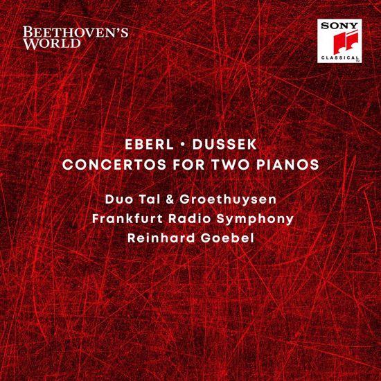 EBERL/DUSSEK:CONCERTO FOR TWO PIANOS/GOEBEL