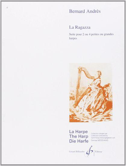 ANDRES:LA RAGAZZA FOR 2 OR 4 LEVER HARP