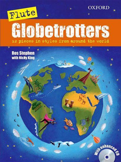 ROS:GLOBETROTTERS FOR FLUTE +CD