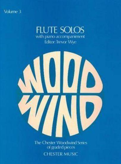 WYE:FLUTE SOLOS VOL.3 FLUTE & PIANO