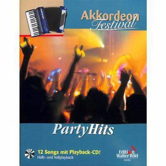 AKKORDEON FESTIVAL-PARTY HITS,12 SONG+CD