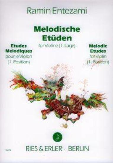 ENTEZAMI R:MELODISCHE ETUDE, VIOLINE.BK 1
