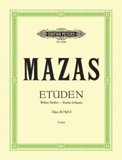 MAZAS: ETUDEN OP.36, HEFT 2/ETUDES BRILLANTES VOL.2