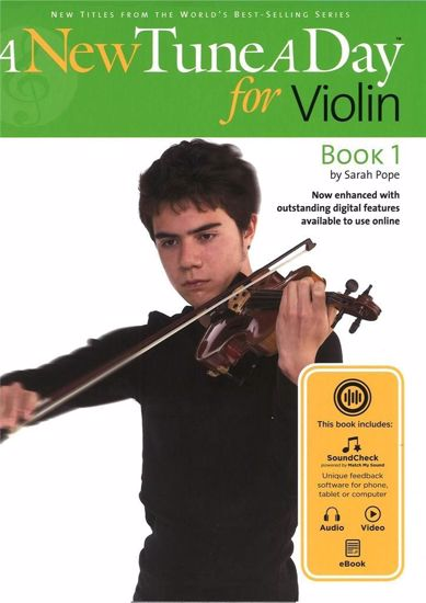 POPE:A NEW TUNE A DAY FOR VIOLIN 1+EBOOK+VIDEO+AUDIO ACC.