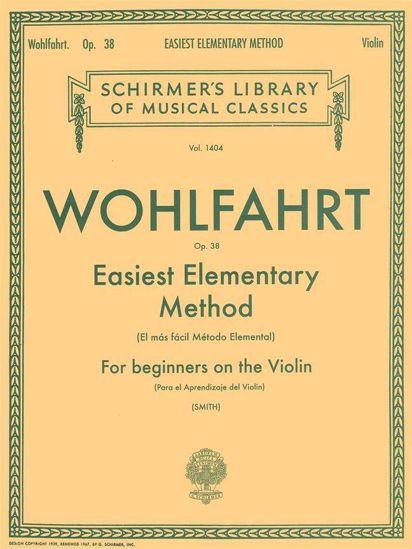 WOHLFAHRT:EASIEST ELEMANTARY METHOD FOR VIOLIN OP.38