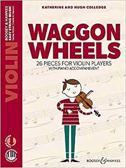 COLLEDGE:WAGGON WHEELS VIOLIN AND PIANO + AUDIO ONLINE