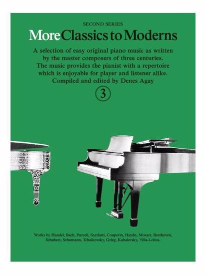 MORE CLASSICS TO MODERNS 3 FOR PIANO