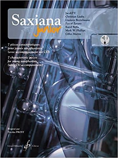PROST:SAXIANA JUNIOR 7CHARACTERISTIC PIECES+AUDIO ACCESS