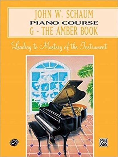SCHAUM:PIANO COURSE THE AMBER BOOK G
