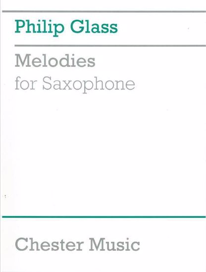 GLASS:MELODIES FOR SAXOPHONE