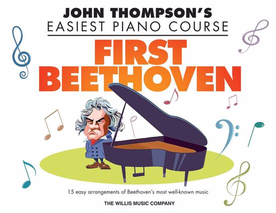 THOMPSON EASIEST PIANO FIRST BEETHOVEN
