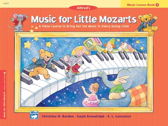 MUSIC FOR LITTLE MOZARTS,BOOK 1 PIANO COURSE