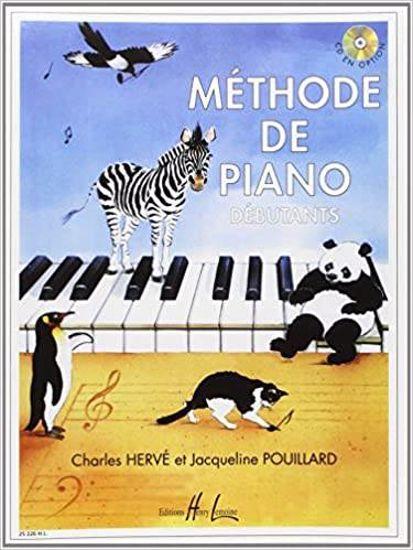 HERVE:METHODE DE PIANO,DEBUTANTS