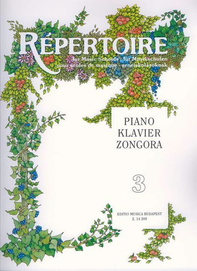 REPERTOIRE FOR MUSIC SCHOOLS VOL.3
