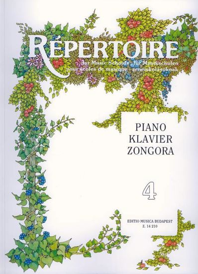 REPERTOIRE FOR MUSIC SCHOOLS VOL.4