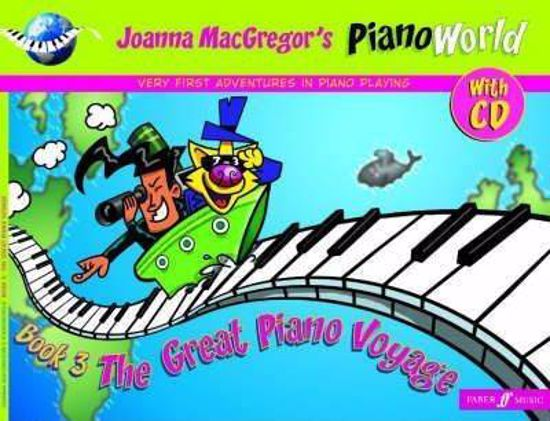 MCGREGOR'S:THE GREAT PIANO VOYAGE 3 +CD