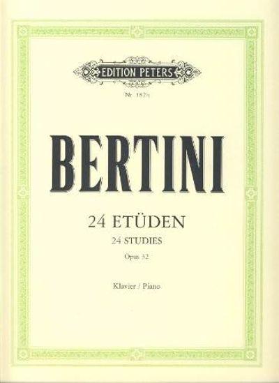 BERTINI:24 ETUDEN,OP.32