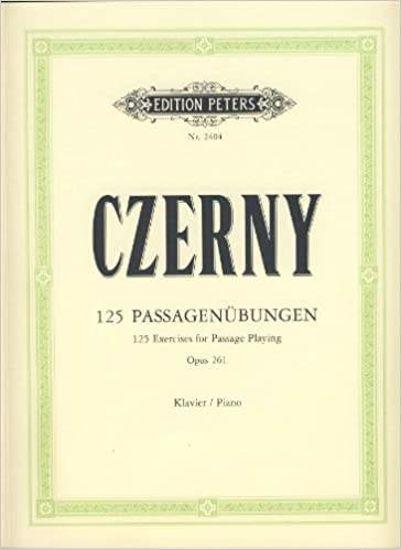 CZERNY:125 PASSAGENUBUNGEN OP.261