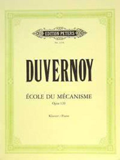 DUVERNOY:ECOLE DU MECANISME  OP.120