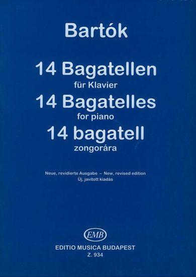 BARTOK:14 BAGATELLEN OP.6