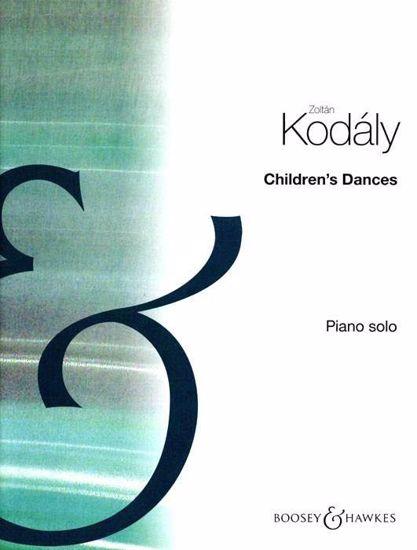 KODALY Z:CHILDREN'S DANCES,PIANO