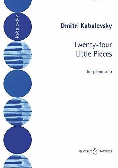 KABALEVSKY D - 24 LITTLE PIECES,PIANO SO