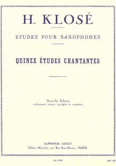 KLOSE H.:15 ETUDES CHANTANTES