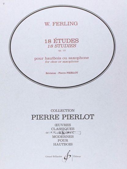 FERLING B.:18 ETUDES OP.12