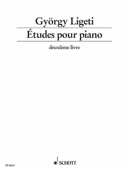 GYORGY LIGETI:ETUDES POUR PIANO DEUXIEME LIVRE