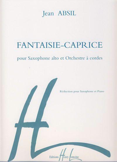 ABSIL J;FANTAISIE -CAPRICE,SAX ALTO