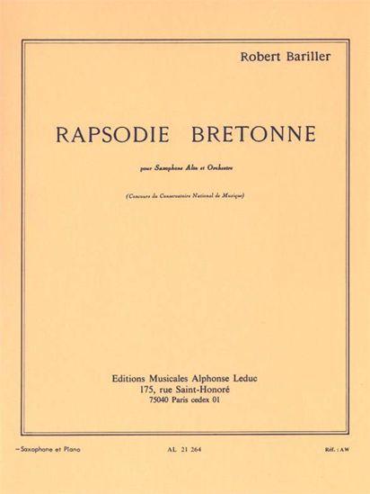BARILLER:RAPSODIE BRETONNE SAX