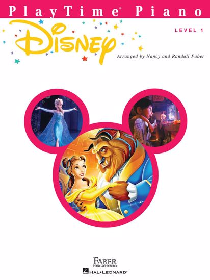 FABER:PLAYTIME PIANO/ DISNEY LEVEL 1