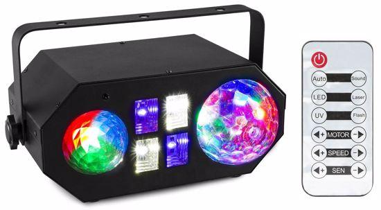 BEAMZ LEDWAVE LED Jellyball, Water Wave and UV Effect