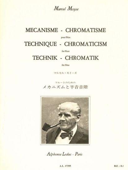 MOYSE:MECANISME CHROMATISME FLUTE