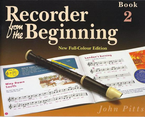 PITTS:RECORDER FROM THE BEGINNING 2 NEW FULL COLOUR EDITION