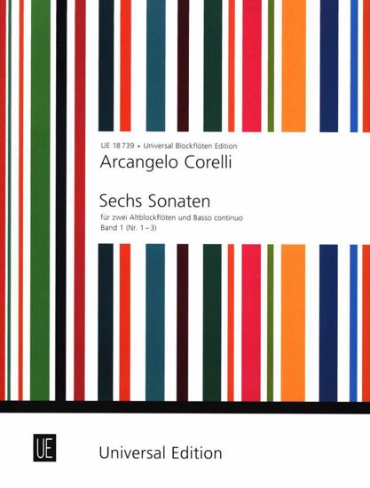 CORELLI:SIX SONATAS VOL.1 (1-3)