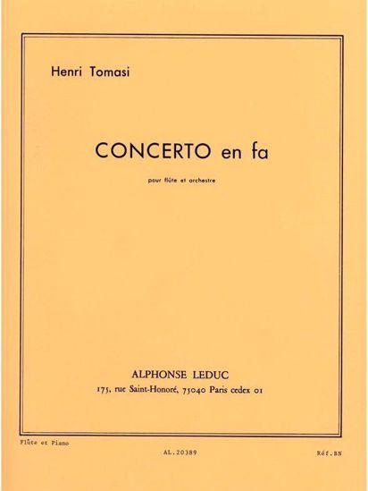 TOMASI H:CONCERTO EN FA,FLUTE ET PIANO