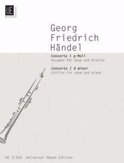 HANDEL:CONCERTO G-MOLL,OBOE AND PIANO