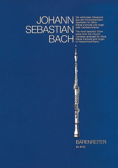 BACH J.S.:THE MOST BEAUTIFUL OBOE SOLOS FROM THE CHURCH CANTATAS